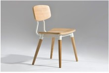 Free Shipping Ash Wood Dining Chair(China)