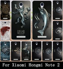 Soft TPU & Hard PC  Game Thrones Family Flag Phone Cases  for Xiaomi Redmi Note 2 Housing Covers Skin Protector Shell Back Hood