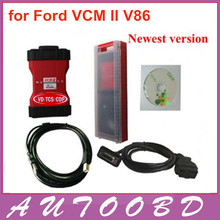 Newest Version VCM II VCM 2 V86 for Ford Vehicels Multi-language VCM2 IDS Diagnostic Tool With Plastic Box free shipping
