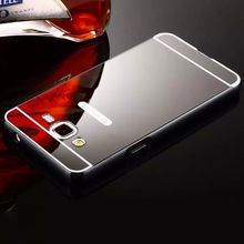Buy Iphone 8 5 5s 6 6s 7 Plus Samsung Galaxy S3 S4 S5 S6 S7 Edge S8 Plus Note 4 Mirror Case PC Back Cover Aluminum Metal Hybrid for $2.63 in AliExpress store