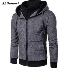 Men Hoodies 2017 Casualjacket Men cotton Solid Sweatshirts Fashion Hip Hop Warm Hoody Polo Mens Hoody Coats(China)