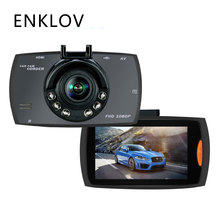 ENKLOV LCD Car Dvr The New Car Camera 100 Wide-angle Car-detector Hidden Driving Recorder 1080P HD Cam Car Night Vision Dash Cam(China)