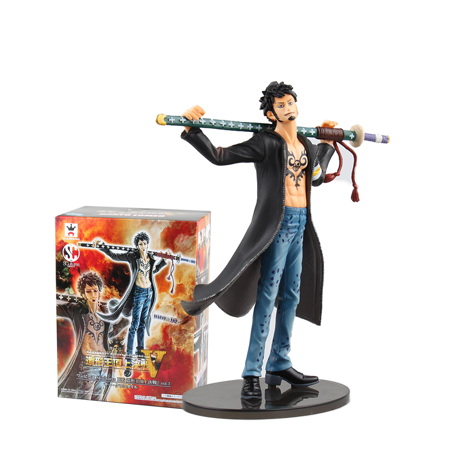 Chanycore Anime ONE PIECE SCultures BIG 18CM PVC Action Figures Trafalgar Law DXF collect model toys<br><br>Aliexpress