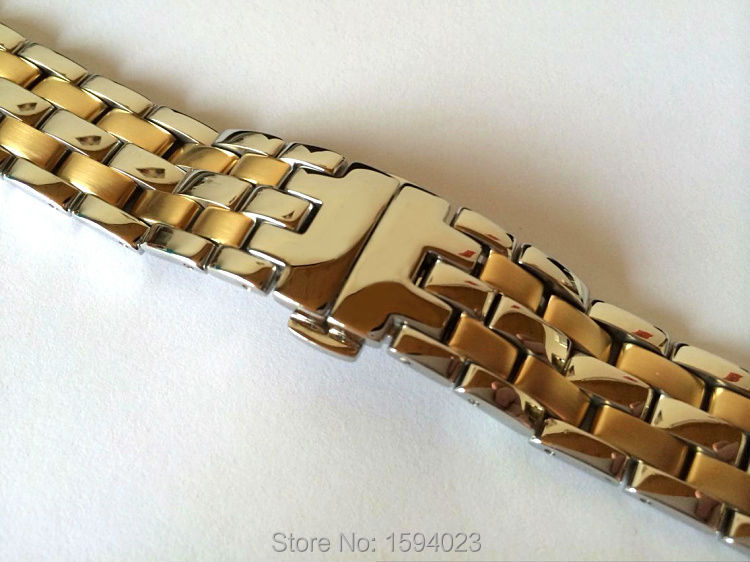 20mm T97 T031410A R463 NEW Pure Solid Stainless steel Watchband Watch Strap Bracelets For T97 Free shipping<br>
