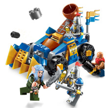 Enlighten Elves Stone Car War Castle Knights Elfin Building Blocks Brick Model Gift Kids Toys Compatible Legoings