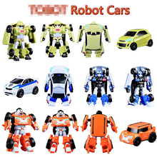 New Arrival Classic Transformation Plastic TOBOT Robot Cars Action & Toy Figures Kids Education Toy Gifts(China)