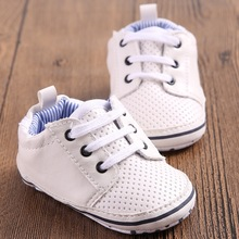 White brand boys shoes kids chaussures baby girls sport sneakers soft soled infant booties children boots moccasins bebe sapatos(China)