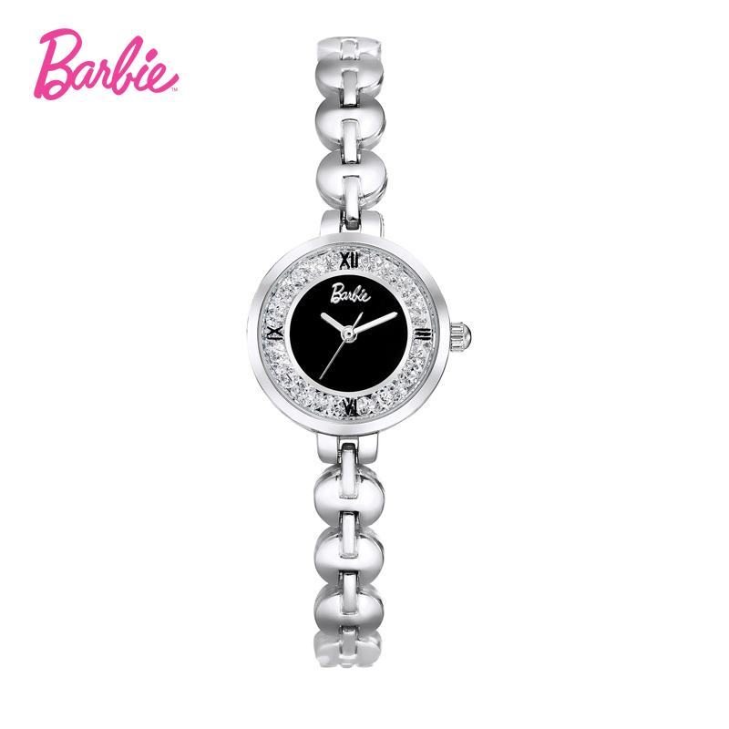 Barbie Women Watches 2017 Luxury Brand Bracelet Strap Top Quality Waterproof Alloy Quartz Watch Woman Wristwatches<br>