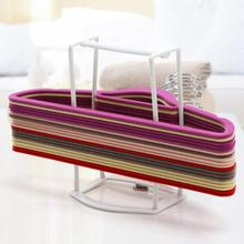 Hot-sale Plastic Hangers Creative Finishing Frame Hanger Companion Storage Rack Best Price High Quality Apr14(China)