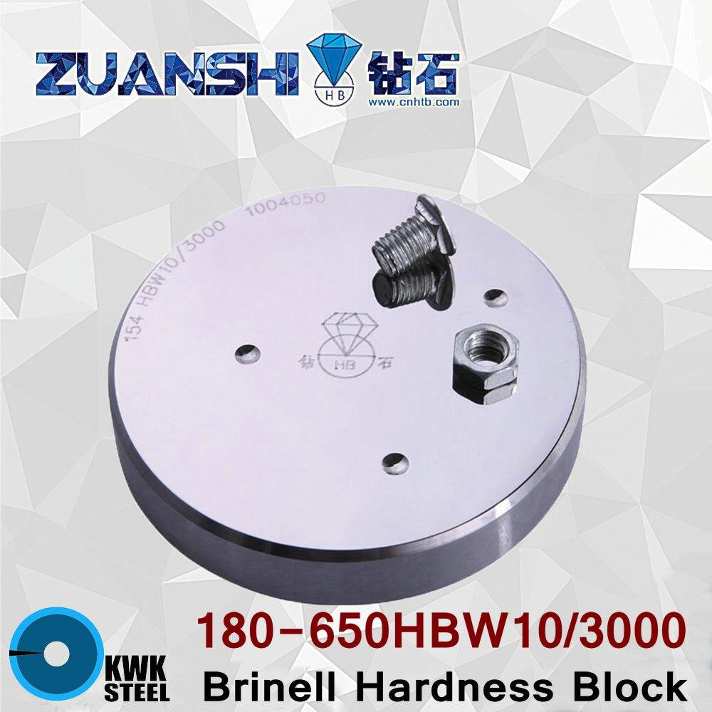 Brinell 180-650HBW10/3000 Metallic Brinell Hardness Reference Blocks Hardness Test Standard Block for Hardness Tester OD 90mm<br><br>Aliexpress