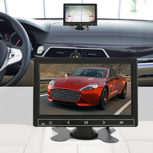 100% Guaranteed 7 Inch Universal Clear Image Car Monitor Car DVD Reverse Front View Parking LCD Monitor Hot Selling