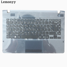 NEW For samsung NP270E4E NP300E4E NP270E4V NP275E4V BR Brazil laptop keyboard with ASH BLACK case Touchpad BA75-04629P
