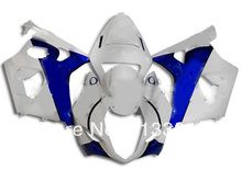 Injection For SUZUKI GSX-R1000 K3 03 04 GSX R1000 K3 White Blue G436 GSXR 1000 2003 2004 GSXR1000 Fairing Kit