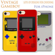 Game boy Vintage Personality Mobile Phone Case Cover Shell Bag For Apple iPhone X 8Plus 8 7Plus 7 6sPlus 6s 6Plus 6 5 5S SE 4S 4