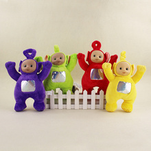 4pcs/lot 26cm Teletubbies Plush Doll Toy Lovely Cartoon Stuffed Doll Animals Plush Education Toys For Baby