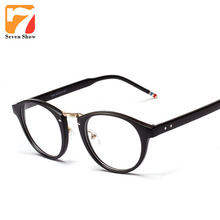 2017 Eyeglasses Brand Thom Browne Women Glasses Frames Men Spectacle Prescription Glasses Myopia Frames Clear Glasses Oculos(China)
