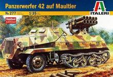 Out of print! Panzerwerfer 42 auf Maultier, Italeri, Part #277, 1/35 Scale, model kit