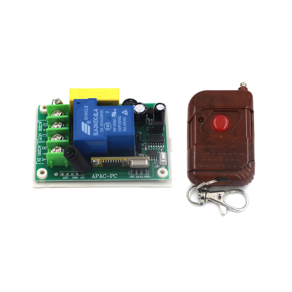 Super stable 200m 220V 30A 1 CH 315Mhz wireless remote control switch for door window Pump motor SKU: 5308<br><br>Aliexpress