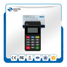 Free Shipping Bluetooth Smart Card Reader Msr Contact Contactless Emv Pos Payment Terminal HTY711(China)
