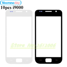Vecmnoday 10pcs/lot Touch Screen Panel Replacement For Samsung Galaxy S1 I9000 LCD Front Outer Glass Cover Lens With Logo(China)