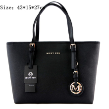 Large Capacity Luxury Handbags  Women Bags MICKY KEN Handbags Lady Leather Big Tote Shoulder Bags