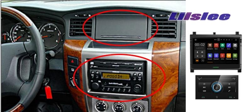 For Nissan Patrol 2004~2009 LiisLee Car Multimedia TV DVD GPS Audio Hi-Fi Radio Original Style Navigation Advanced NAV INAVI 3