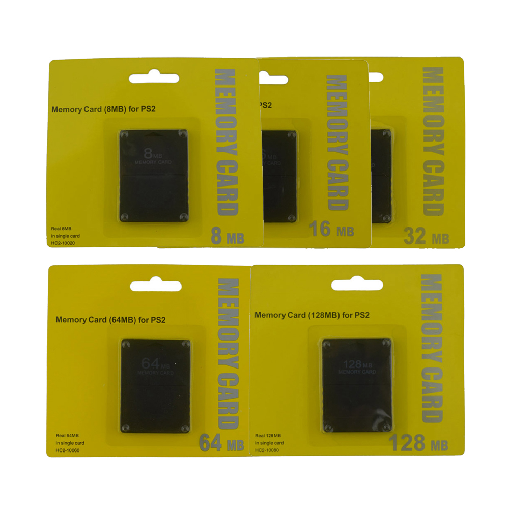 High Quality 8MB 16MB 32MB 64MB 128MB Memory Card for Sony Playstation 2 PS2