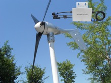 Grid tie 400W wind turbine generator +controller + Waterproof Grid tie inverter(China)
