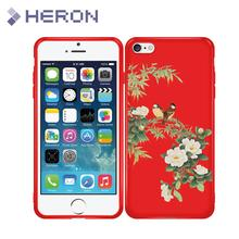 Anti Finger Print Silicone Artist Case For iPhone i7 7+ i8 i8+ X iX 5 5S SE 6 6s Plus Soft Red Matt Ultra Thin Phone Cover Bags(China)