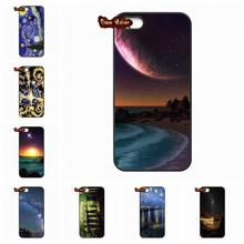 Starry Night Space Sky Phone Case Cover For iPhone 4 4S 5 5C SE 6 6S 7 Plus Galaxy J5 A5 A3 S5 S7 S6 Edge