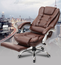 hot selling fashion computer chair office chair can lay down with foot rest