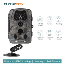 Floureon 1080P HD 12MP Hunting Trail camera Scouting Wildlife Video Night Vision Waterproof Camera PIR Game Hunter Cam(China)