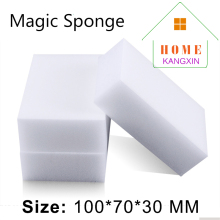 100pcs/lot melamine sponge magic eraser cleaner white kitchen cleaning dishes washing keyboard cleaning magic sponge melamina(China)