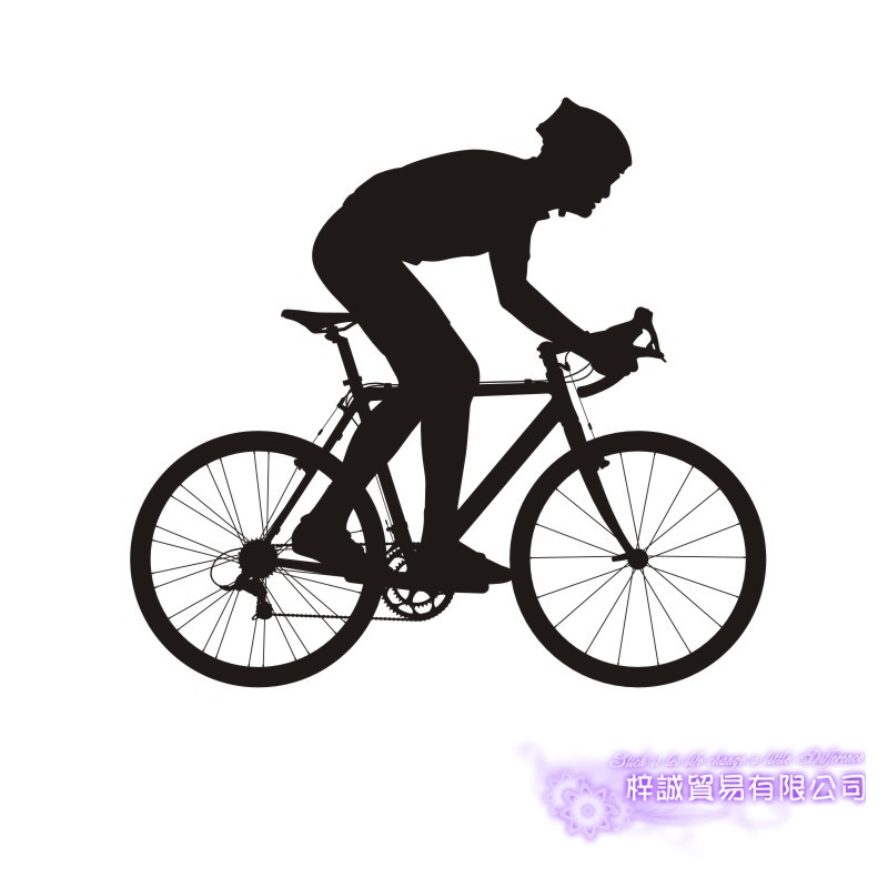 DCTAL Dad Kids Room Bike Sticker Bicycle Car Decal Posters Vinyl Wall Decals Pegatina Decor Mural