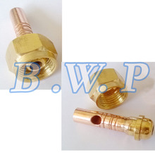 TIG WP-9 WP-17 WP-18 Welding Torch Power Cable Connector 8mm Hose Nut(China)