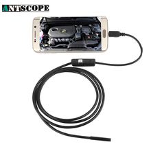 Antscope 3.5M Android Endoscope OTG Phone 7mm lens inspection Pipe ,IP67 Waterproof Side mirrors 130W 720P HD micro USB Camera(China)