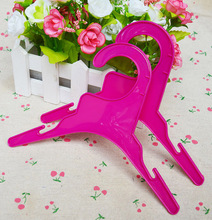 4 Pcs/Set Pet Dog Clothes Hanger / Baby Clothes Hanger Hook / Saving Space Hanger , Rose , S , L