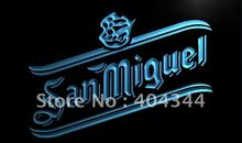 LE150- San Miguel Beer Bar Pub Dispaly LED Neon Light Sign home decor crafts(China)