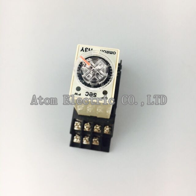 1SET  H3Y-4 0-5Sec 220V Time relay power delay controller ST6P-4 <br><br>Aliexpress