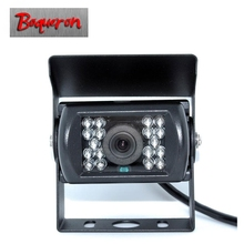 BOQUERON HD CCD Car Rear View Camera Reverse backup Camera For Truck Van Trailer Buses Night Vision Waterproof