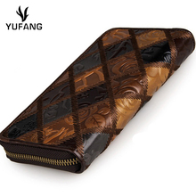 YUFANG Genuine Leather Wallet Female China Style Ladies Purse Luxury Brand Wallet Woman Mini Money Bag Soft Leather Card Holder