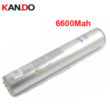 HID 35W HID battery SUPER High intensity discharge battery 6600mah 11.1V HID torch power bank HID lithium battery(China)