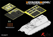RealTS Voyager model PE35077 WWII German MAUS Super heavy tank (For DRAGON 6007/9133)(China)