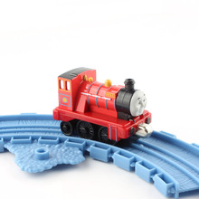 Kids Mini train head thomas and friends trains mike Steam track master Diecast model alloy metal models railways toys for boys