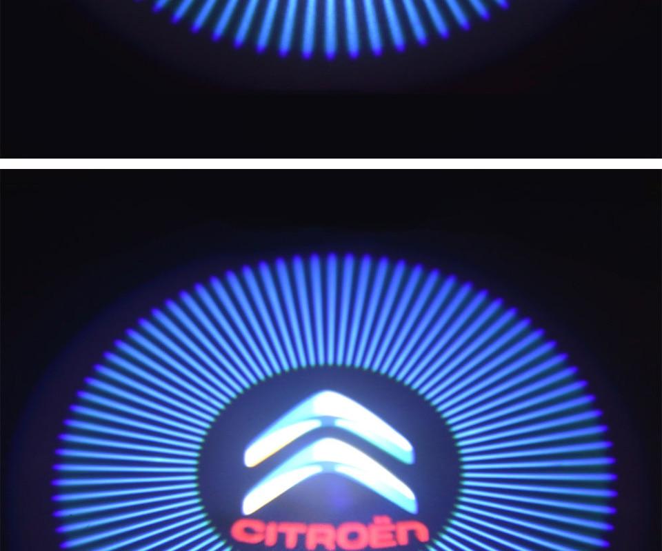 car door light welcome lamp auto decoration bulb car brand logo projector (6)