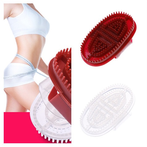 Hot 1pc Massage Brush Comfortable PP Hair Washing Comb Bath Spa Body Slimming Massage Brush Personal Health 2 Colors
