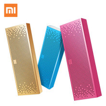 Xiaomi Mi Altavoz Bluetooth inglés versión estéreo inalámbrico Mini altavoces Bluetooth portátiles de música MP3 Player soporte manos libres(China)