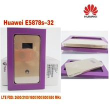 Huawei E5878s-32 4g lte unlock wifi router E5878 lte 4g 3g dongle 150Mbps FDD 4g lte MiFi mobile router(China)