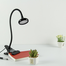 Led Desk Lamp USB Clip Light Lampara Led Table Light Flexible Desk Lamps Touch Switch Dimmable Eye Protection Office Study Lamp