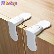 6pcs Baby Safety Locks Children Protection Child Lock Baby Security Children Safety refrigerator Cabinet Drawers Lock For Kids